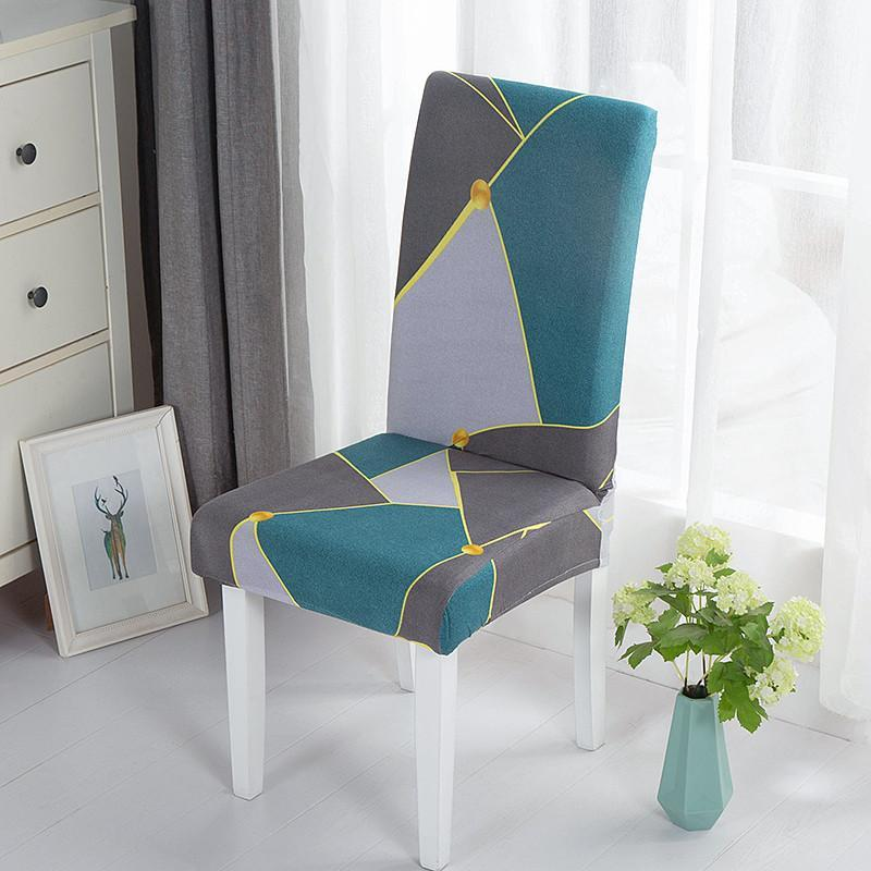 Elastic Stretch Dining Chair Cover Removable Slipcovers Protector Anti-Dust Furniture Decor For Wedding Banquet Party 1/2/4/6pcs