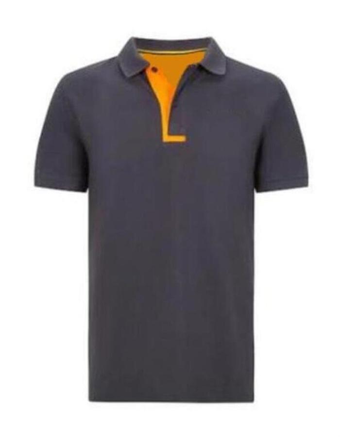 2020 Camiseta de manga corta de solapa vendedor caliente F1 Fórmula One Racing Polo Shirts Deportes Casual Camiseta de manga corta