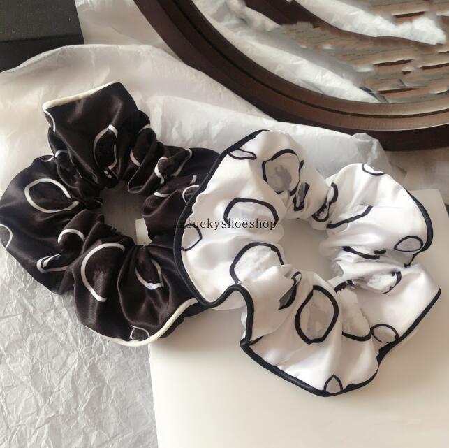 Venta caliente Letter C Peinatura Cuerda Cuerda Cinta Cinta Elástica Bowknot Pelo Banda de Pan Lonytail Mujeres Diseñador Accesorios para el cabello al Por Mayor