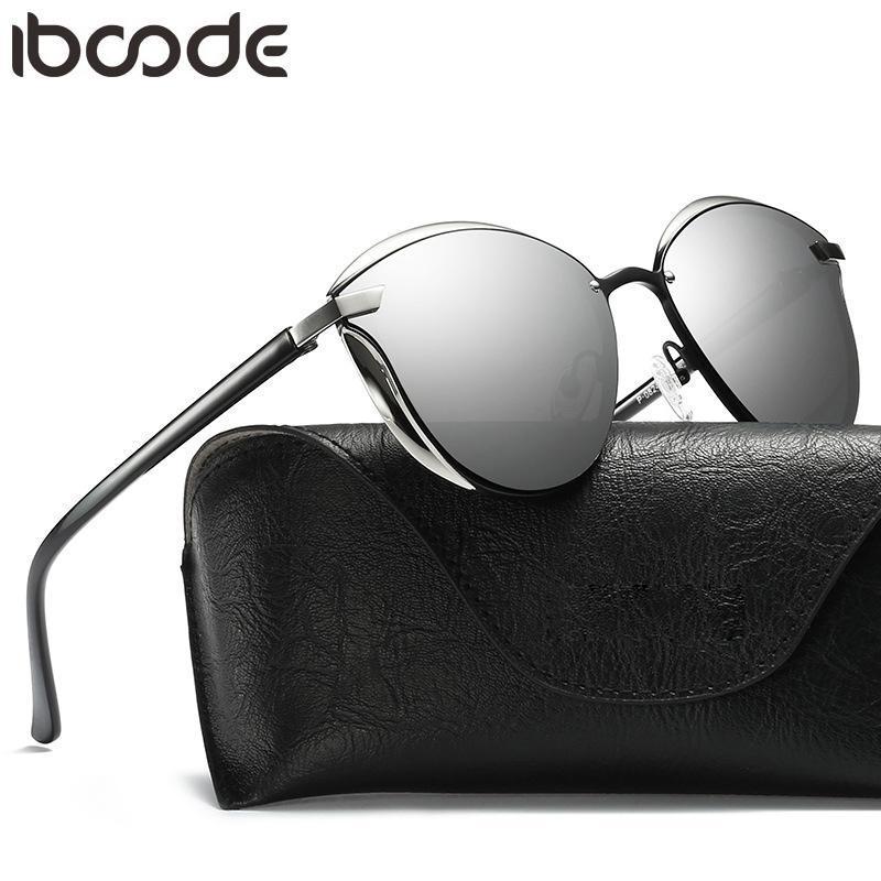 Gläser Eye Sun Vintage Shades Damen Frauen Mode Sonnenbrille Gafas Polarisierte Weibliche Oculos Boone Rvtfr