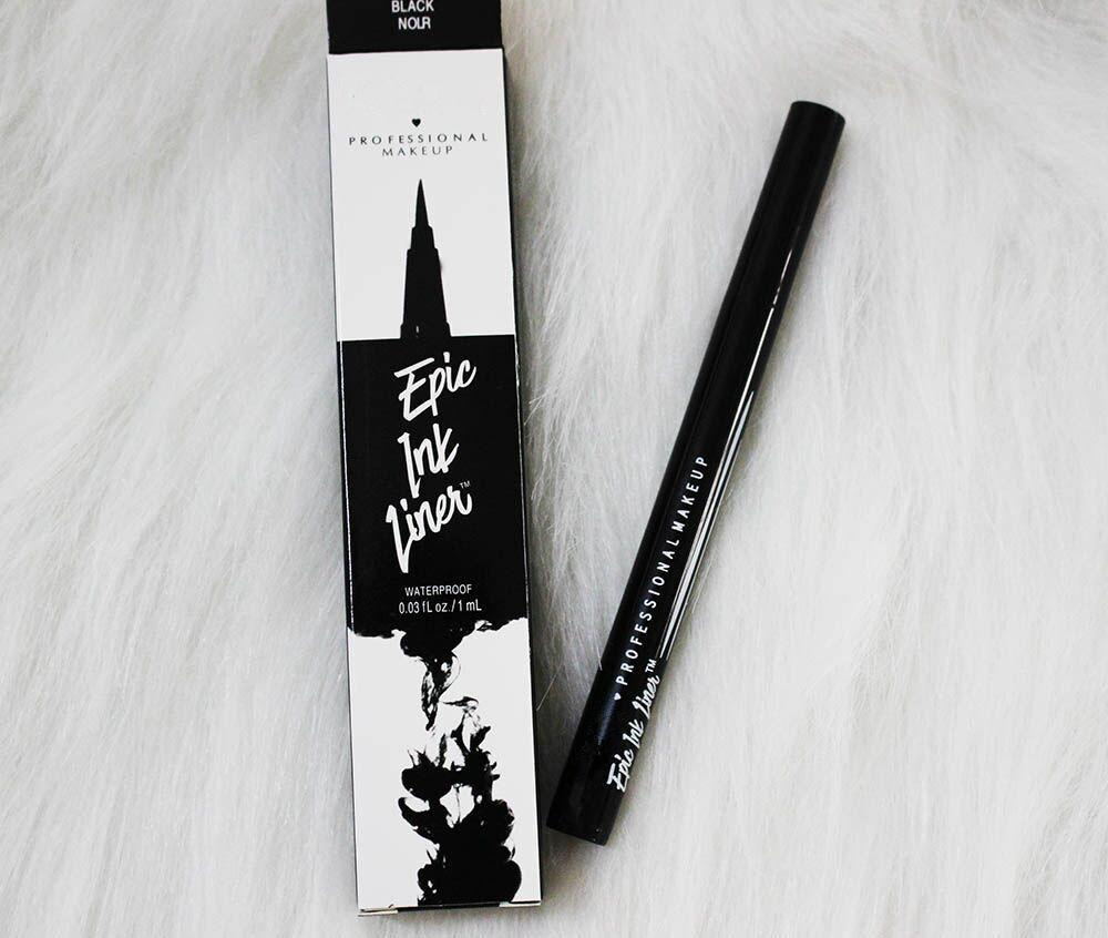 Dropshipping Epic 잉크 라이너 검은 아이 라이너 연필 향하고 메이크업 액체 블랙 컬러 아이 라이너 방수 화장품 오래 지속되는