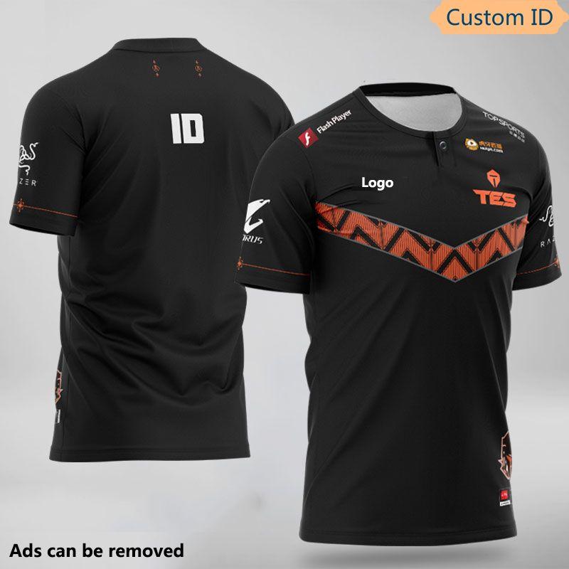 Lol E-Sports LPL Team TES Sn JDG LGD 2020 Spieler Uniform T-Shirt Jersey Fans Custom ID T-Shirt Männer Frauen Top Qualität T-Shirt