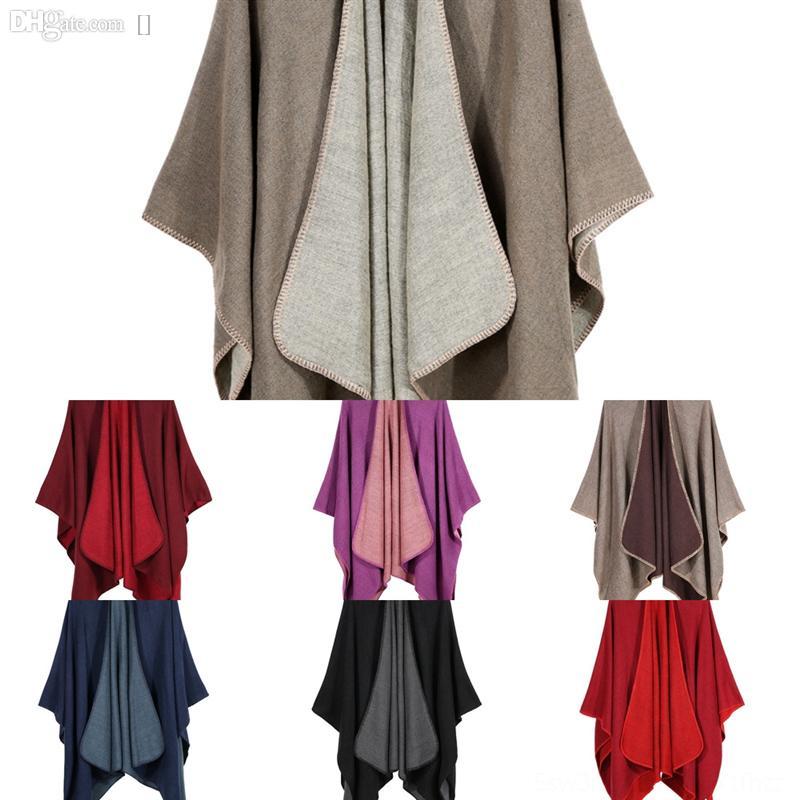 QKB KMS ÚLTIMO NUEVO NUEVO NUEVO COLOR SOLIDO HILADO LILLY Bufanda de alta calidad Invierno otoño y bufanda Shl Wrap Wool para