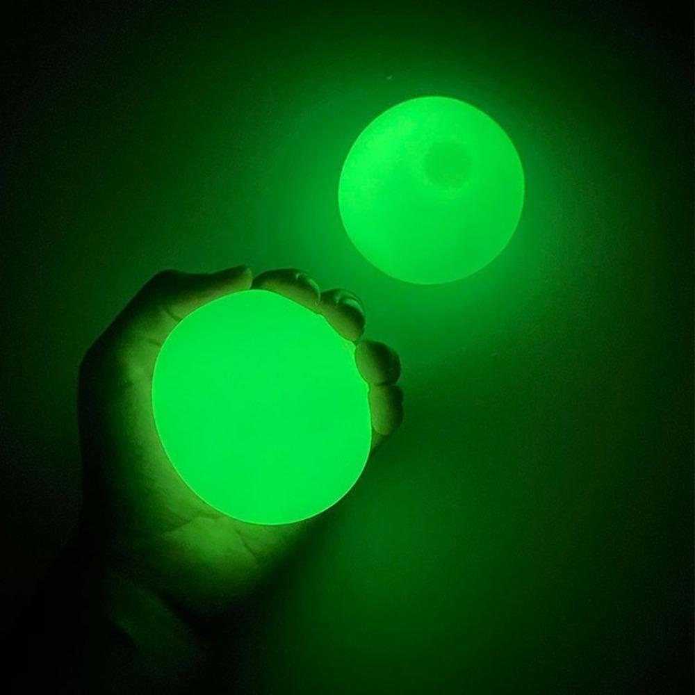 Tirar en la pared palo gol adhesivo BAL Squash Ball Bobblables Balls Collante Techo 1J8Y