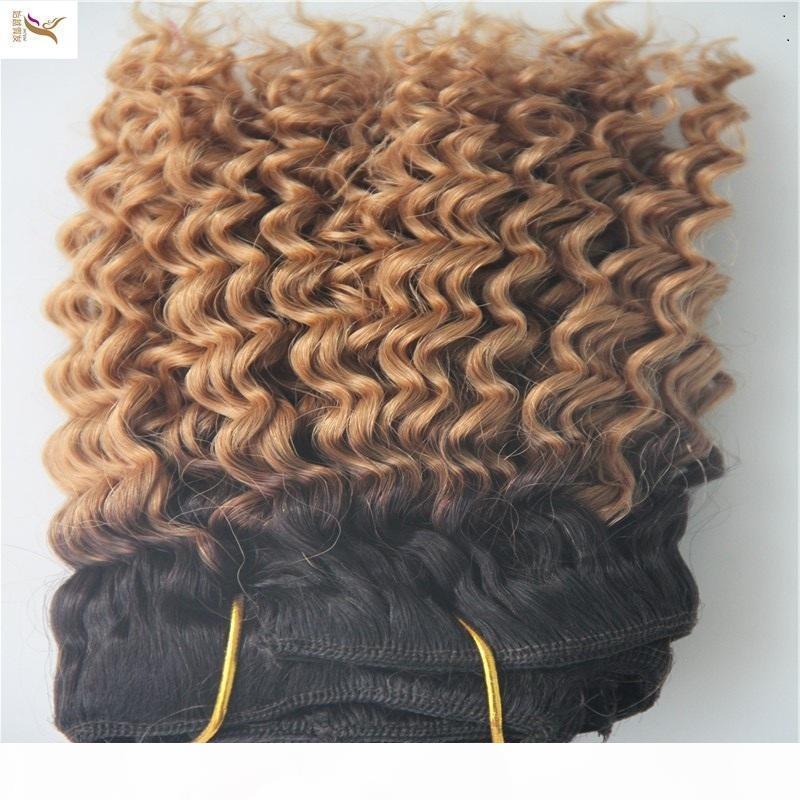 Paquetes de cabello de doble trama Virgen peruano 100% Onda profunda Extensiones de cabello humano 1 pieza Pelo Weave