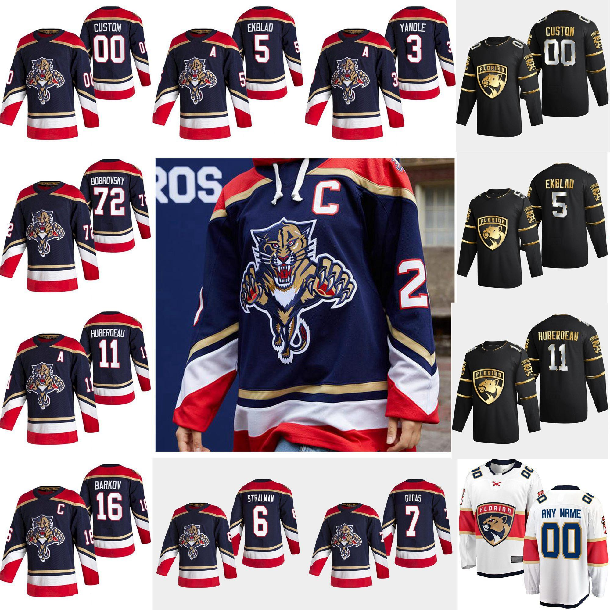 Florida Panthers 2021 inversa Retro Hockey Jerseys 72 Sergei Bobrovsky Aaron Ekblad Aleksander Barkov Jonathan Huberdeau cosido