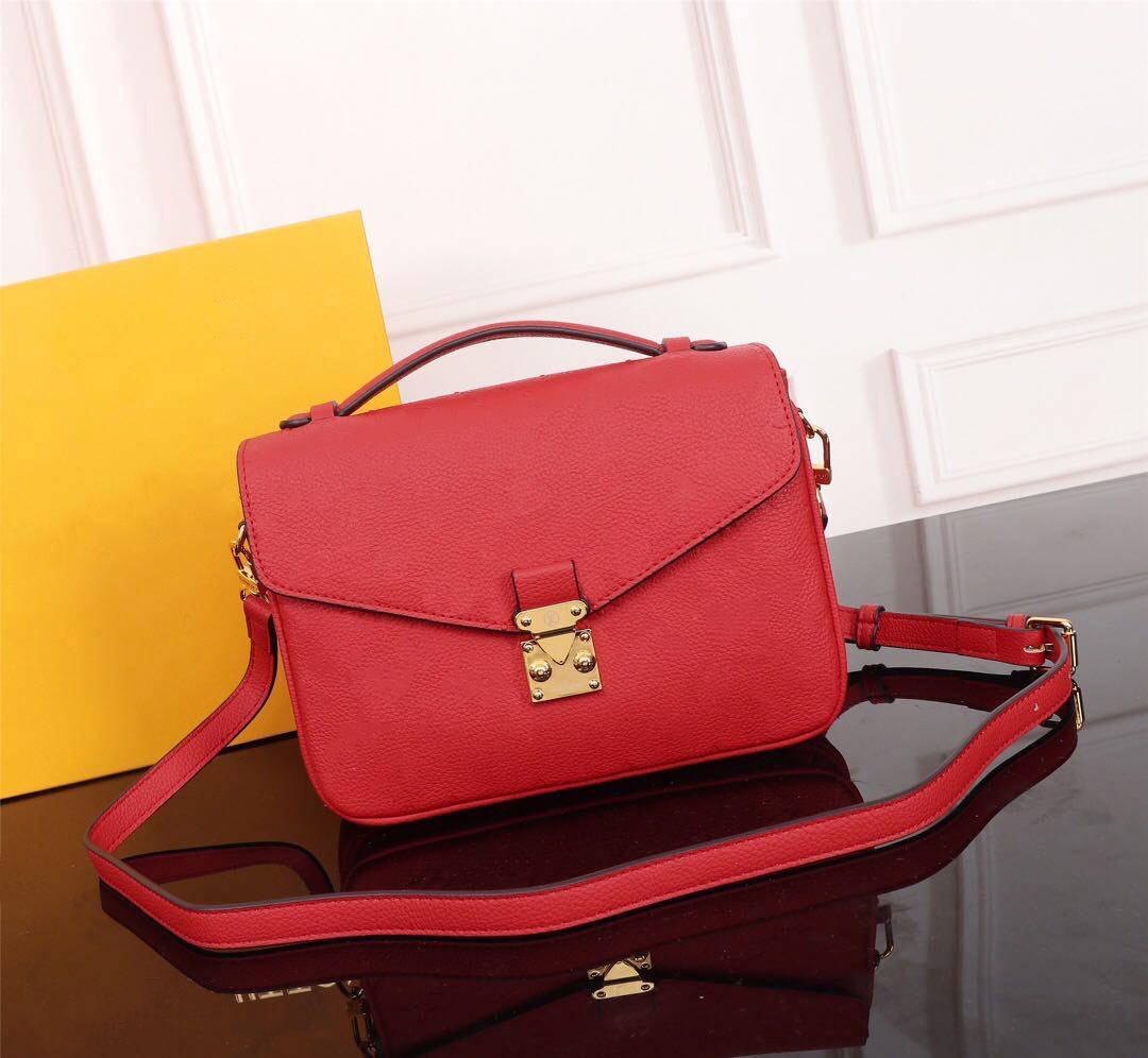 Bolso de bolsas de lujo Bolsas de tamaño 2021 Nuevo estilo Diseñadores de alta calidad 25x19x9cm Mujeres Messenger Bolsa Bolsa de hombro M40780 Diseñador Augip