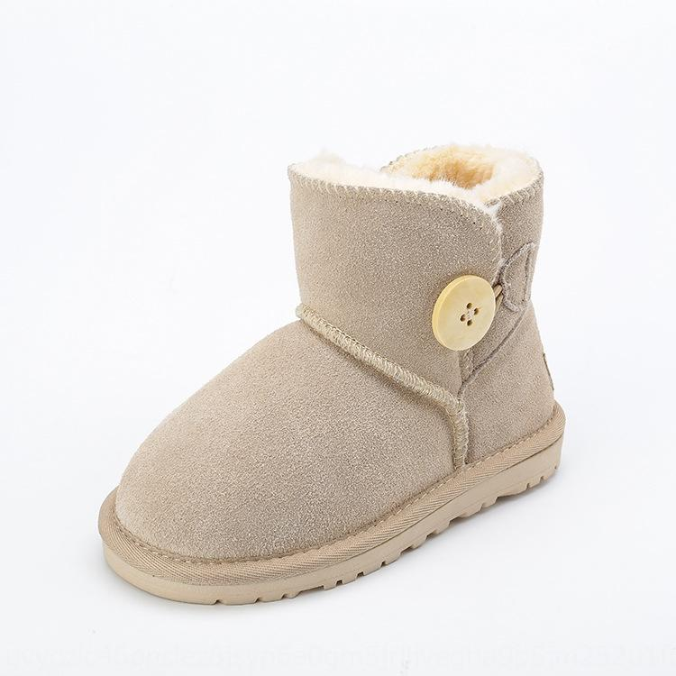 E1gn SKHEK Shoes Boots New Autumn Winter Fashion Princess Kids Spring Sneakers Child Snow Boots 201027 PU Leather Children Girls Kids Soft