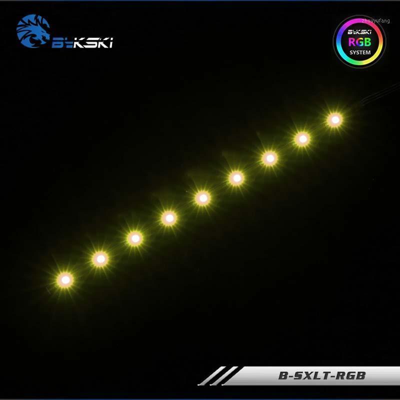 Bykski B-SXLT-RGB, encaixe de tira de iluminação RGB para reservatório / tanque de água, LED de 12V, 120mm / 180mm para a luz do refrigerador de água