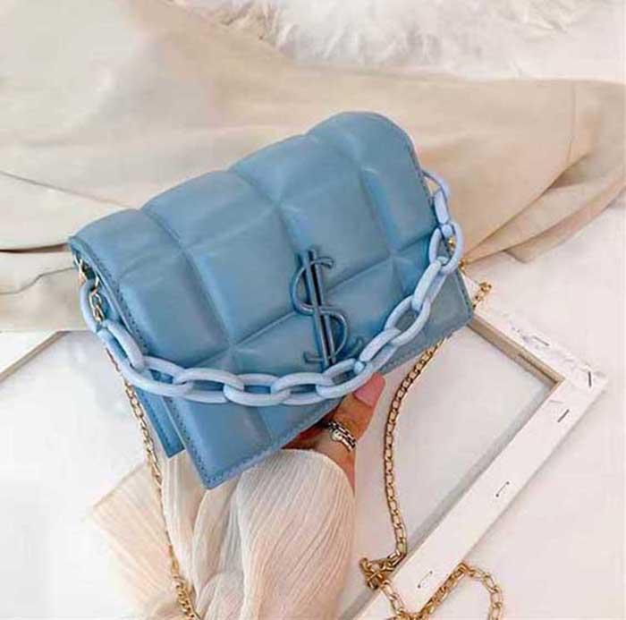 HBP New Quality Senhoras Moda Moda Bolsa Clássica Couro Plástico Chain 658555