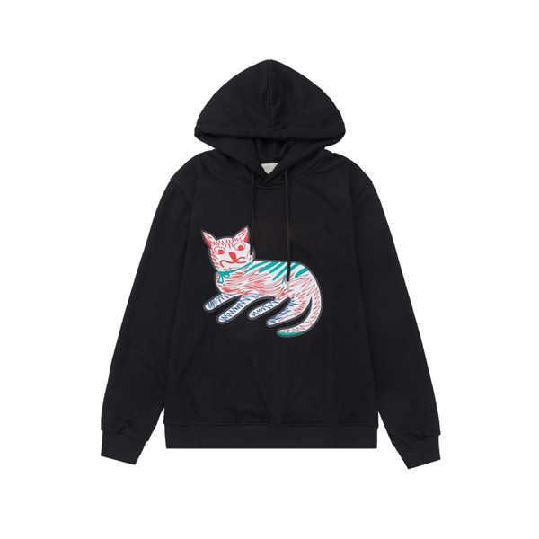 2021 hombres con capucha de diseñador con letra impresa Moda para hombre Sudadera con capucha Casual Streetwear Sudadera con capucha 2 colores