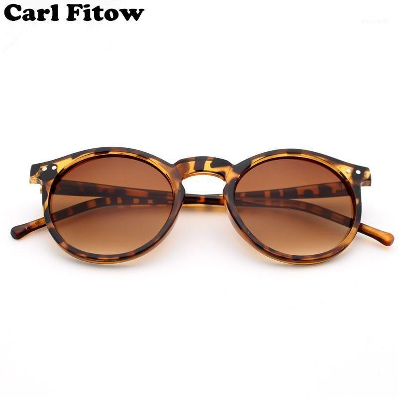 Gafas de sol Moda Tendencia Redonda Mujer Multicolor Marco Mercurio Espejo Lente Gafas Hombres Revestimiento Men1