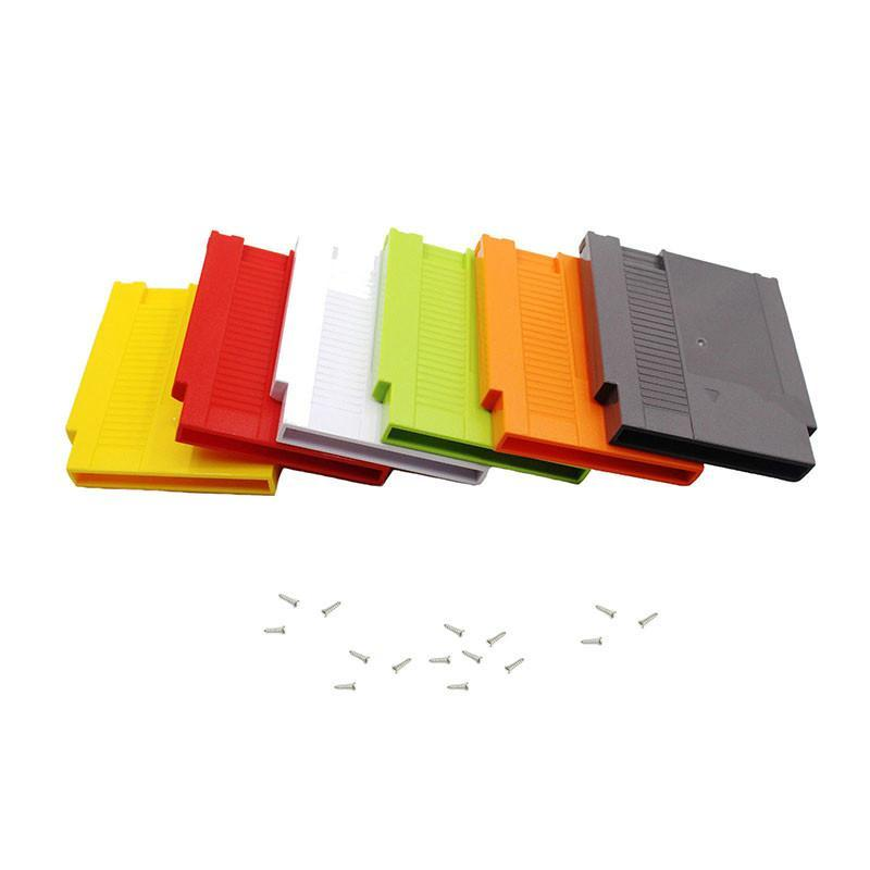 Hard Plastic Case Cartridge Shell Замена корпуса для NES Game Card Adapter 60Pin до 72Pin Converter Card DHL FedEx EMS бесплатно