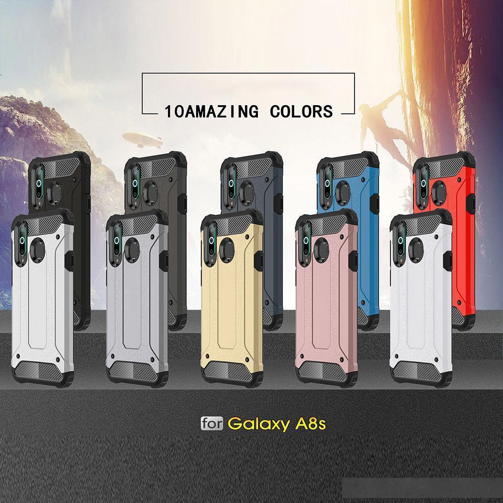 Armure de haute qualité SGP recouvert de Samsung Galaxy A9 A8 A8S A8S A6S A6S plus A7 A5 A3 A3 A30 A40 A50 Couverture