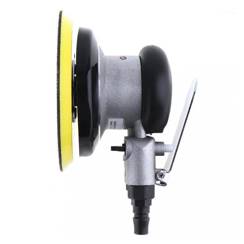 Sanders 5 inç Vakumsuz Mat Yüzey Dairesel Pnömatik Zımpara Kağıtları Rastgele Orbital Hava Sander Cilalı Taşlama Makinesi El Aletleri1