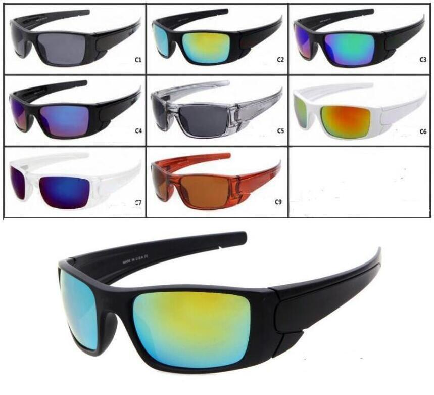 8 ألوان الرجال النظارات الشمسية الشهيرة مصمم نظارات الشمس النظارات الشمسية النظارات الرياضية في الهواء الطلق