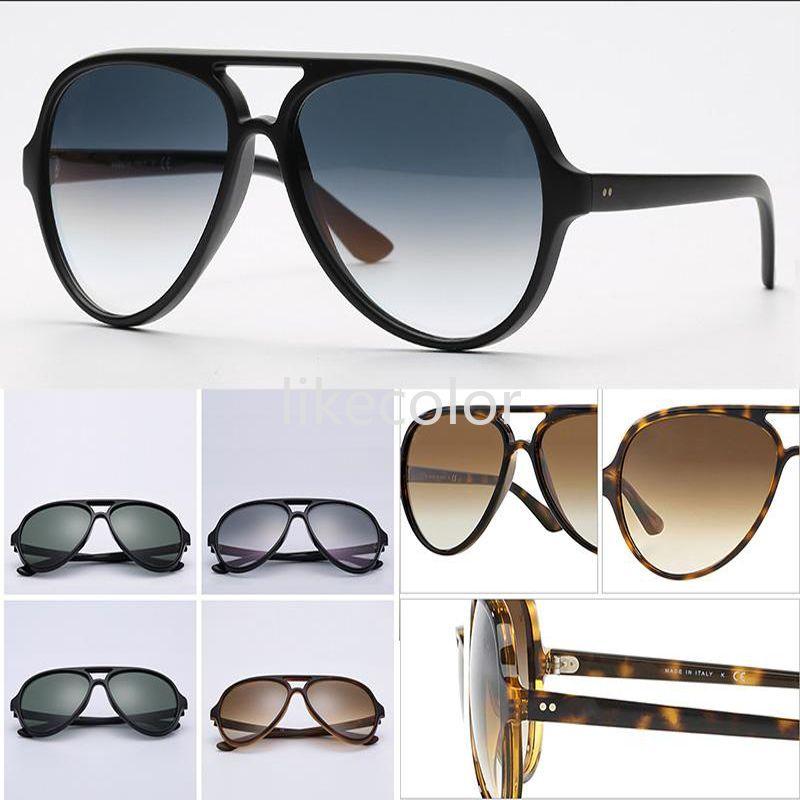 Model Sunglasses Sun Women Quality G15 Classical Nylon Glasses Bridge Men Lenses Double Frame Design Packaging Include Eomgd