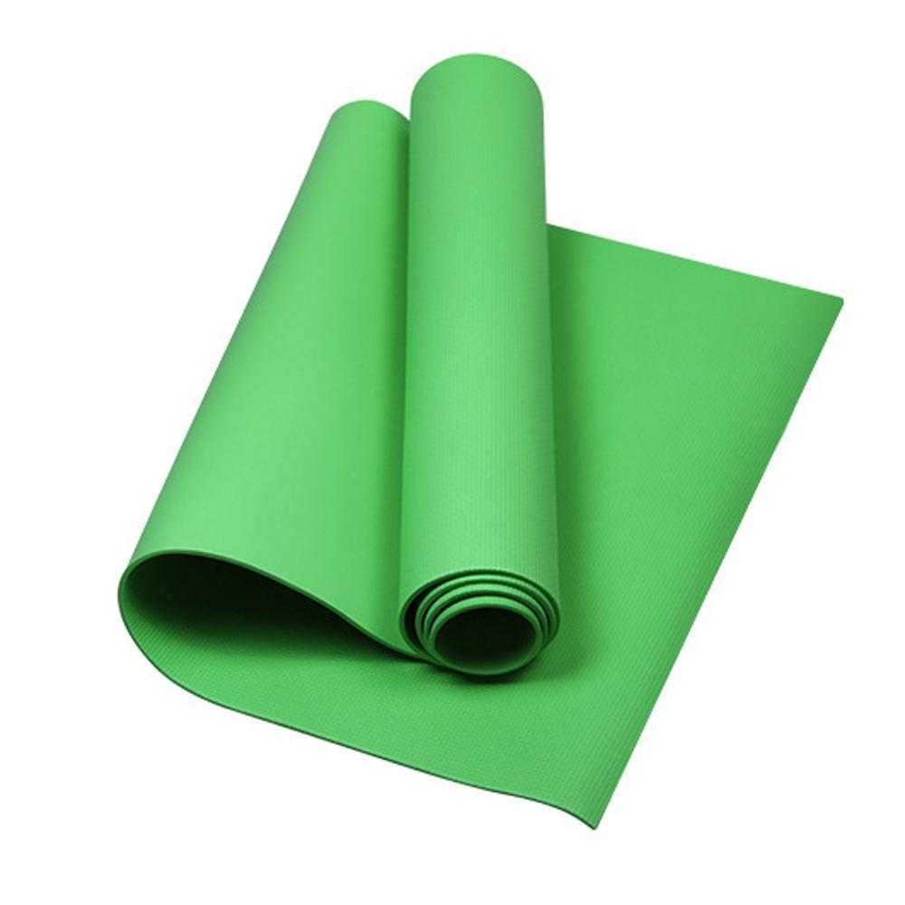 4 mm Eva Yoga Mats Aparta de espuma antideslizante para Fitness Pilates CrossFit Gimnasio Cojín de deportes Cojín de Yoga Colchón Carril culturismo Equipo de gimnasio LJ201218