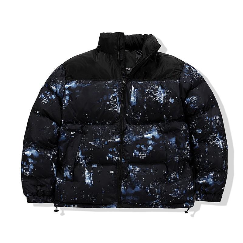 Mode Homme Hiver Down Jacket Casual Capuche Capuche épaisse manteau Veste Hommes Haute Qualité Down Jackets Hommes Femmes Couples Parka Hiver Coat 8012