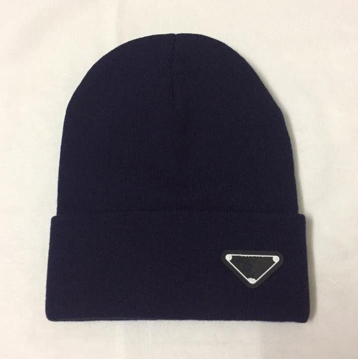 En Kaliteli 2020 Erkek Kadın Kafatası Kapaklar Bere Bonnet Kış Erkekler Örme Şapka Kapaklar Sıcak Şapkalar