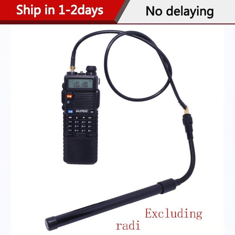 куча Walkie Talkie частей Аксессуары ABBREE AR-152 AR-148 Tactical антенна SMA-Female коаксиальный кабель Продлить Продлить кабель для Baofeng -5R ...