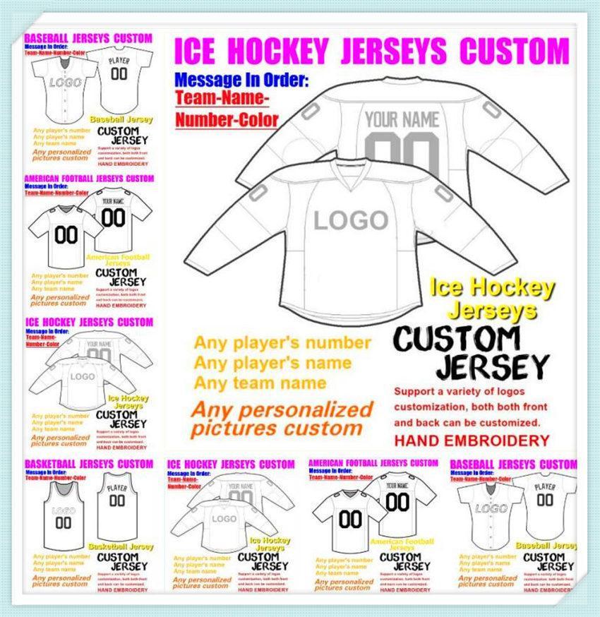 Пользовательские бэйбола Хоккей Баскетбол Американский Футбол Джьи для Мужской Женские Дети Дети Цвет Ледяной Хоккей Футбол Джерси Мальчики 4XL 5XL 6XL