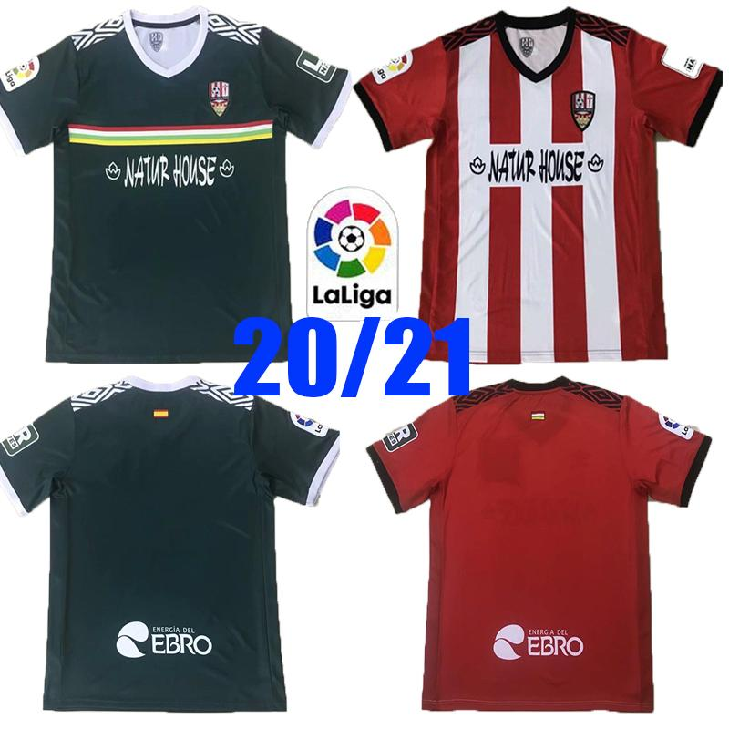 221 Ud Logrones Futebol Jerseys Zelu Vitoria Andy Naki Away LoGrones 20 21 Camisa de Futebol