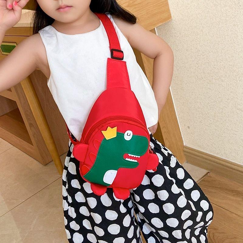 Sqm2 Chain Little PU Fashion Shoulder Summer CC-757 Purse 2020 Designer Cute Bling Dinosaur Handmade Bag Kids Vieeoease Girls Bag Bag Gecxw