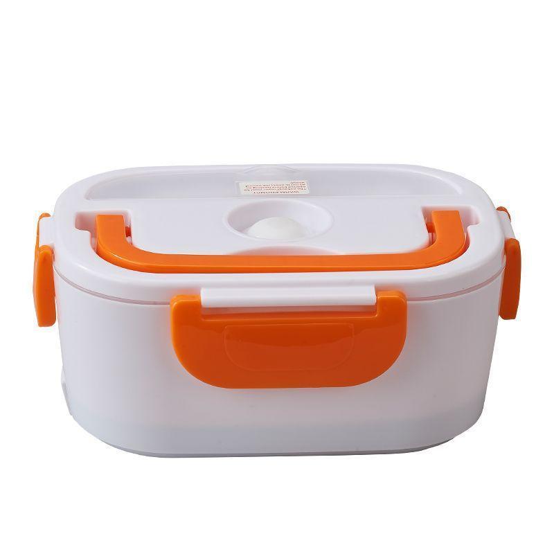Plug In-Lunchbox Split-Stil-Wärmeerhaltung Feste Farbe Rechteckige Boxen Heizung Tragbares Abendessen Eimerung Easy Clean Heißer Verkauf 22HB L2