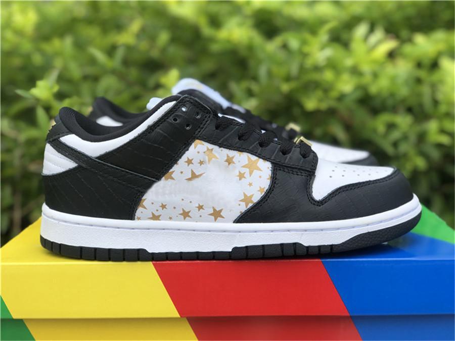 Auténtico SB Dunk Skateboard Zapatos Menores bajos Mujer Hyper Blue Black Barkroot Blanco Blanco Metálico DH3228-100 Zapatos Zapatillas 36-47