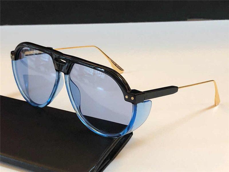 Club3 NEW Men popular sunglasses with special UV protection womens fashion retro oval glasses frame high quality free high quality box