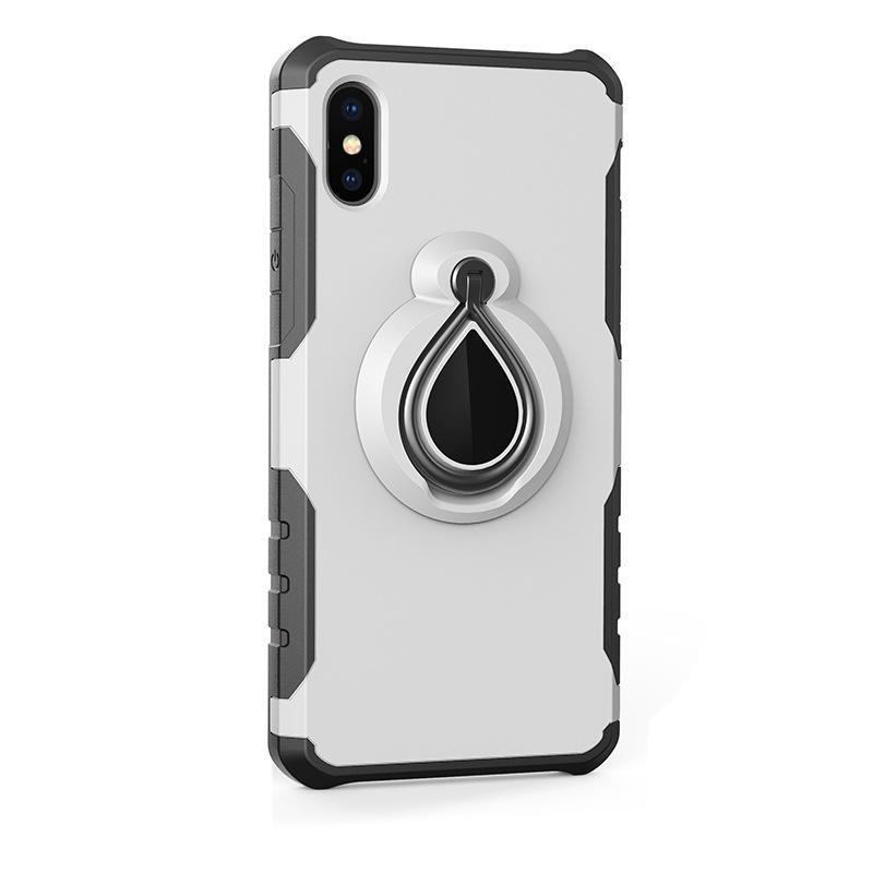 Para iPhone 9 (2018) X XS PLUS 7 8SS CASE SAMSUNG S7 NOTE9 CON CASO DE SOBRE MAGNÉTICO TIENDO TPU Funda de PC TPU.