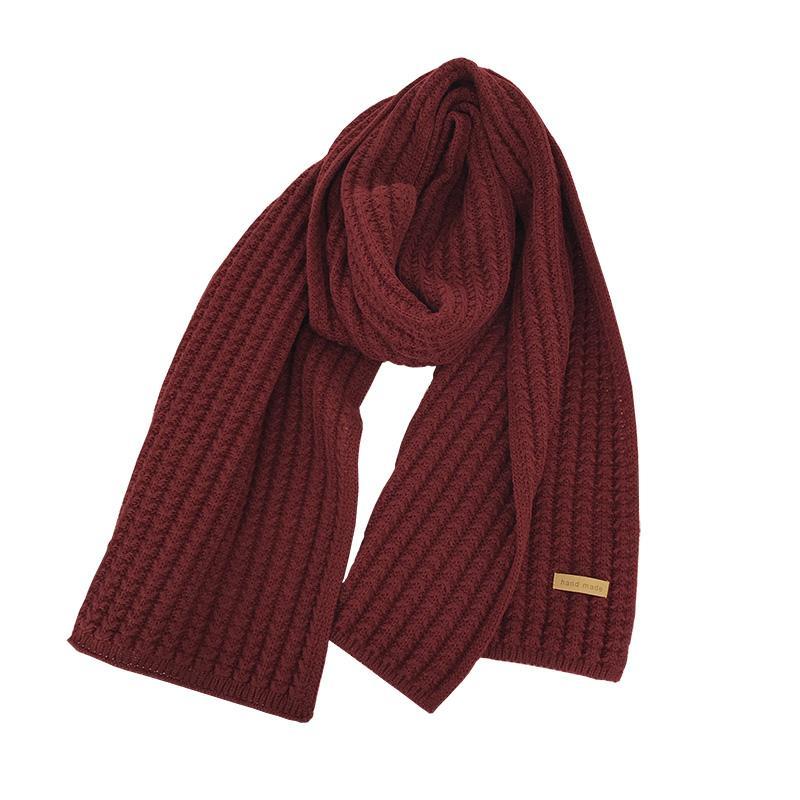 2021 Moda Mantenga la bufanda cálida Bufanda de invierno Popular Bufanda Pashmina Encantador estilo simple estilo retro Accesorios para mujeres Girls Mans