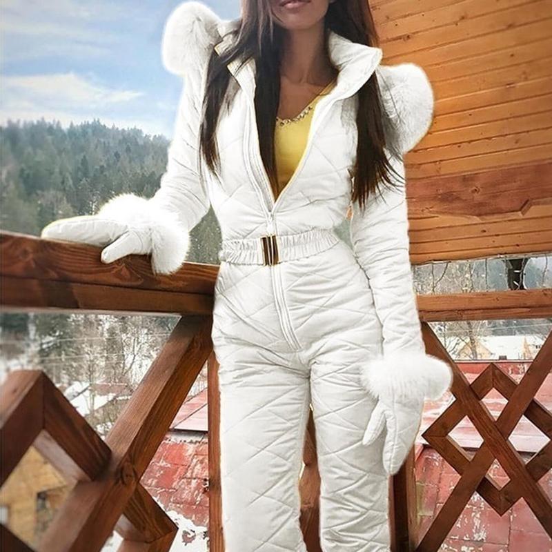 4 Цвета S-XXXL Женщины Комбинезон Дышащая куртка для сноуборда лыжные брюки Устанавливает Теплые Боди Наружные Костюмы