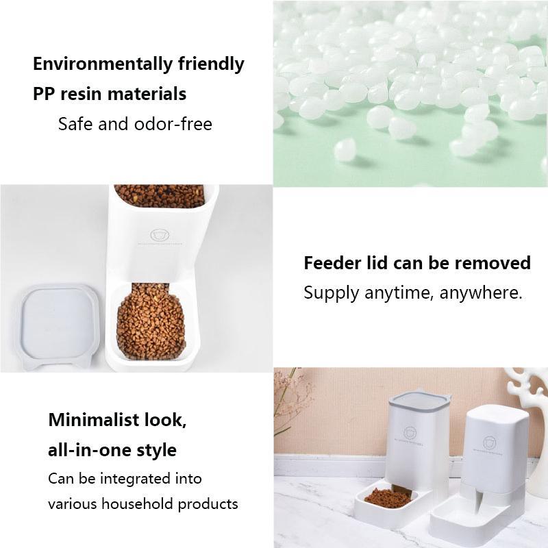 Lovefat Haustier Automatic Water Feeder / Feeder-Gerät für kleine Katzen FMEDIUM Hundeschüssel Katzenschüssel Haustierschale
