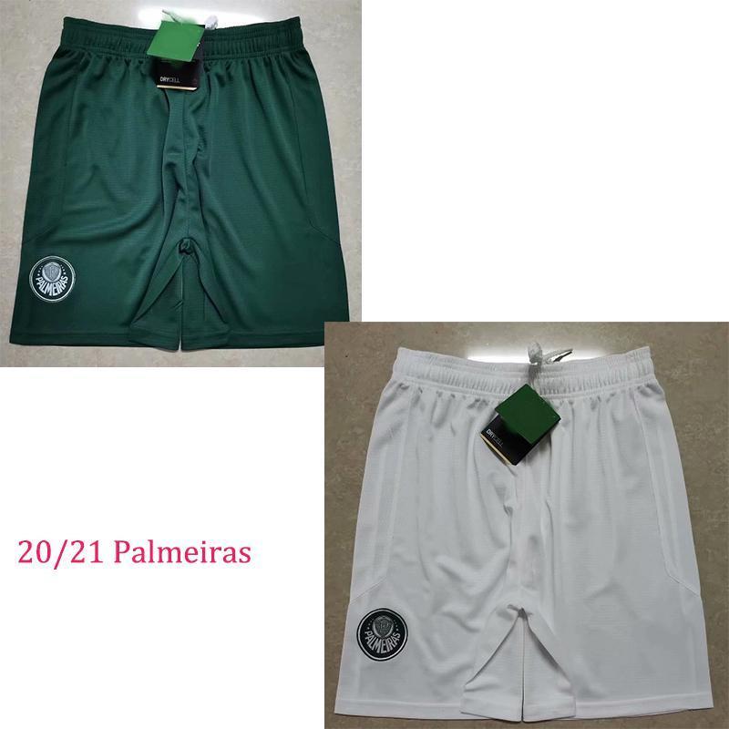 NCAA 20 21 SE Palmeiras Soccer Shorts Palmeiras R. Goulart Borja Moisés DUDU HOME 3ème 2019 2020 2021 Football Sports Pantalons S-2XL