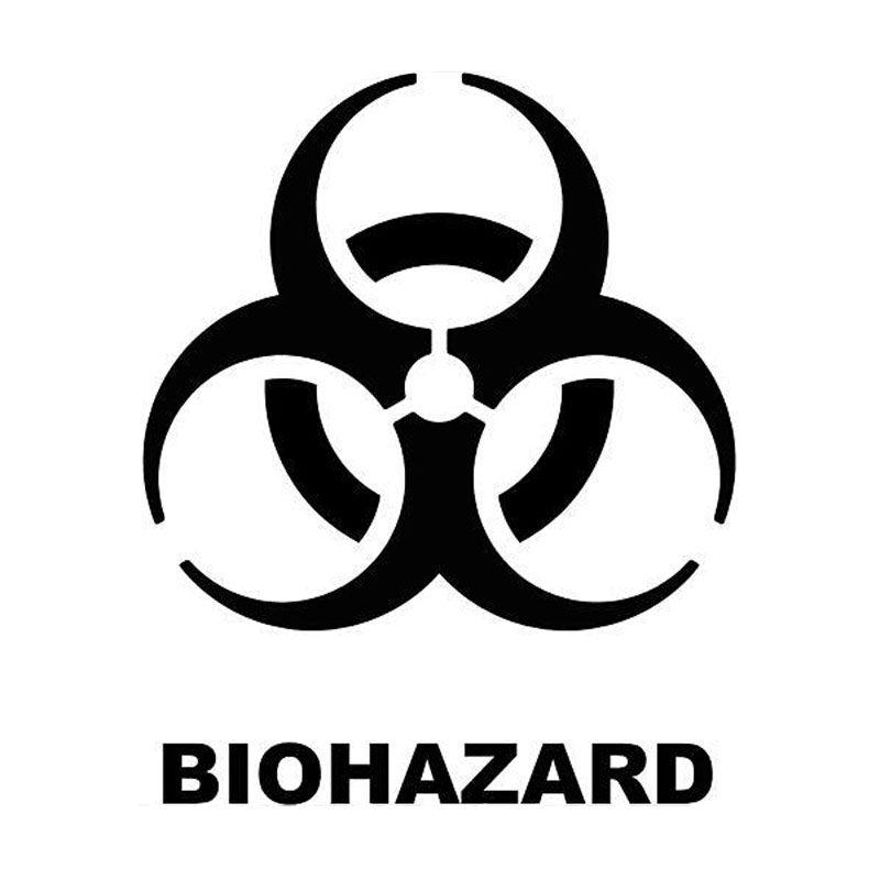 12,2 см * 15 см Биохимический кризис биологический стиль личности стиль виниловые автомобильные наклейки C5-0082