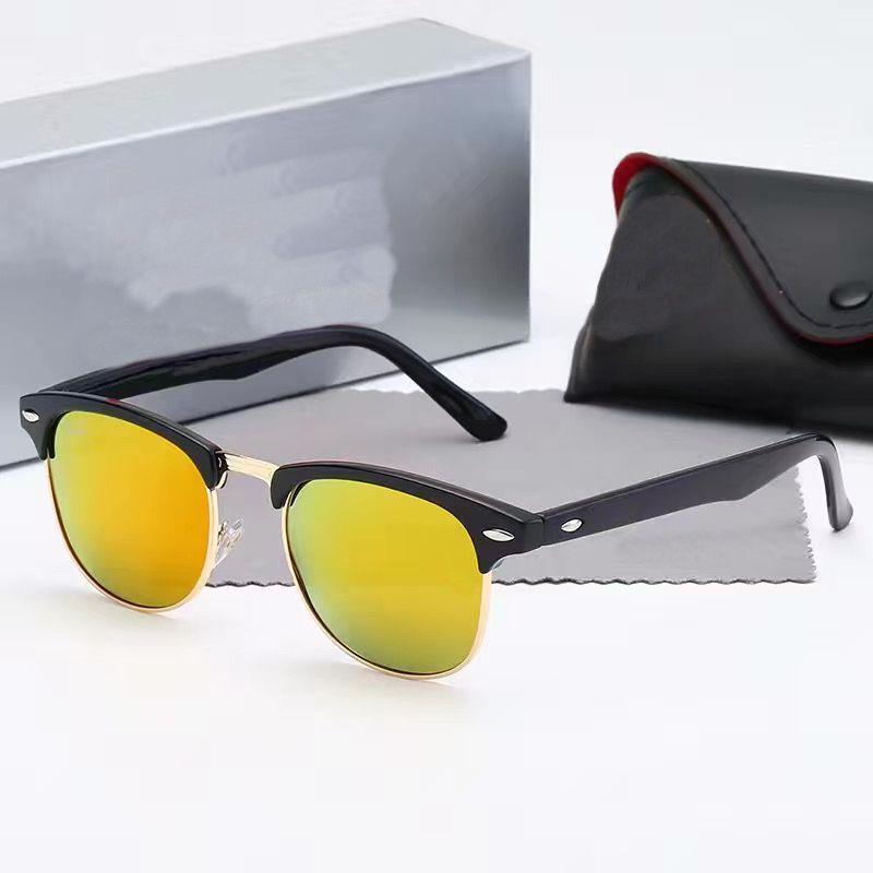 Горячая роскошь 4361 дизайнерские пчелы солнцезащитные очки для женщин мода круглый летний стиль рамка высочайшего качества УФ защита от ультрафиолетовой защиты.