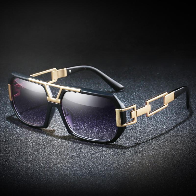 GRFISIA Retro Style Square Sunglasses Men Women Brand Designer Super Light Eyeglasses Frame Sun Glasses Travel UV400 Goggles