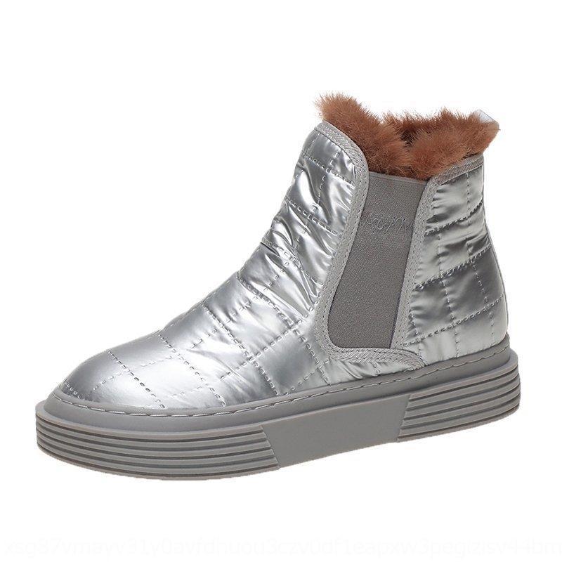 tiws outono 2020 inverno sapatos mulheres pelúcia neve tornozelo calcanhar moda manter morno mulheres botas de mulher tamanho boot botas rosa