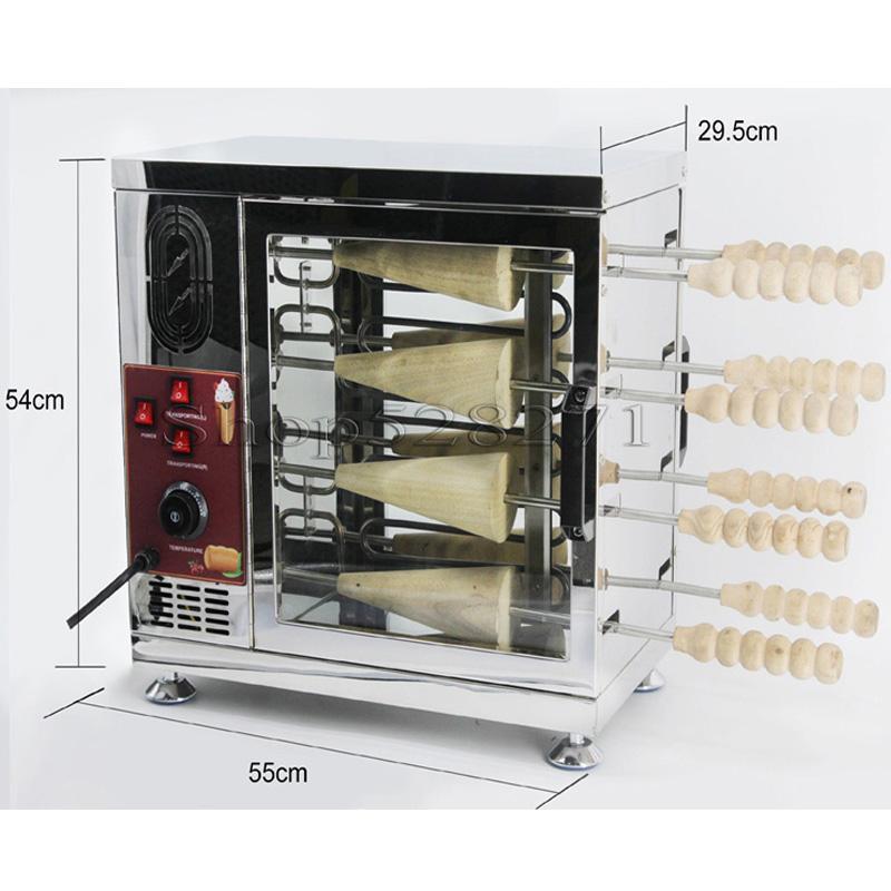 Forno per pane per torta per camino commerciale per forno per il forno di alta qualità Macchina per la produzione di tostapane elettrici