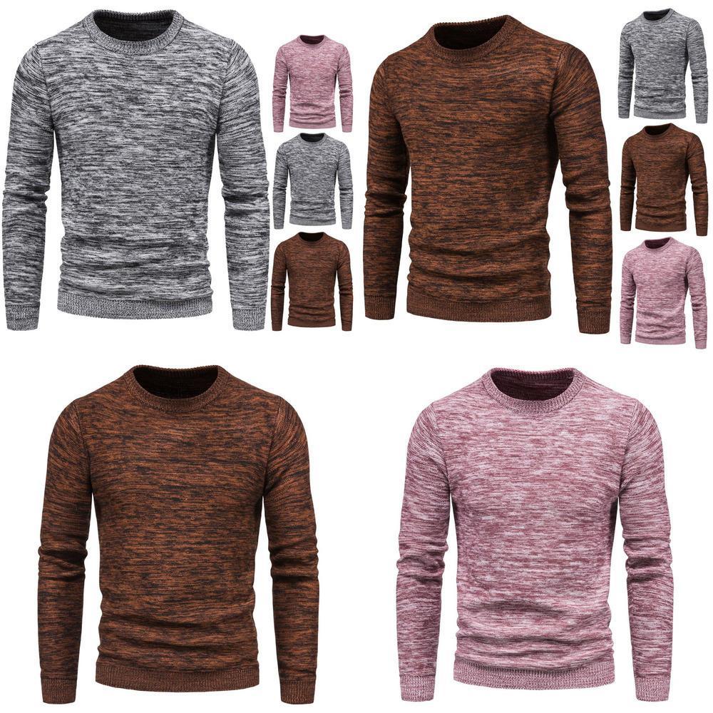 Tricoté Nouveau Commerce extérieur WE2020 Variété de la chemise d'automne pour hommes d'automne