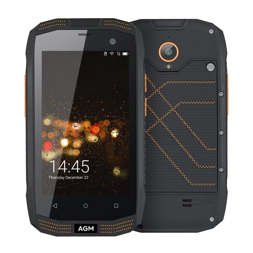 AGM A2 Rio 4.0 inç IP68 Su Geçirmez Açık Android 5.1 MSM8909 Dört Çekirdekli 2G RAM 16G ROM NFC 4G Cep Telefonu