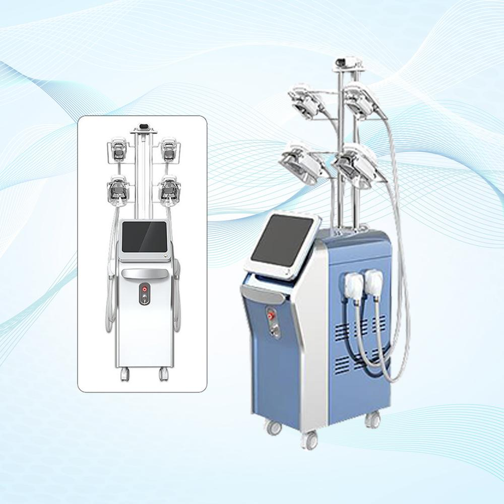 Máquina de emagrecimento de Cryolipolysis efetivo confortável 5 mãos Double Chin Remoção Cryo Machine Fatil Fiew Fat Remoção Máquina