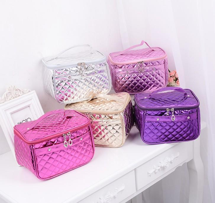 CXY04 Custom Logo Women Mini Beauty Travel Make Up Organizer Brushes Pouch Brushes Set Case Cosmetics Makeup Bag Luxury Cosmetic Bag
