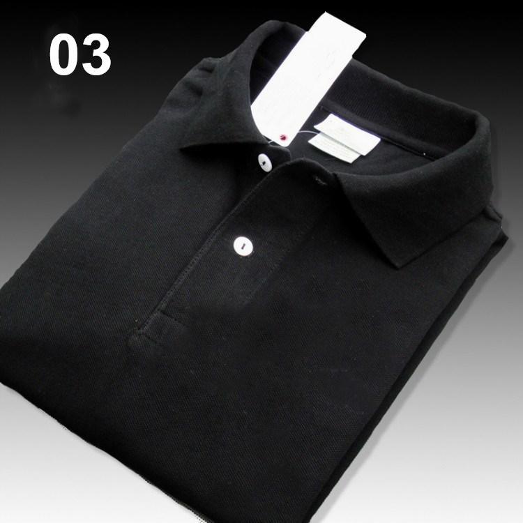 블랙 고품질 악어 폴로 셔츠 남성 솔리드 코튼 반바지 폴로 여름 폴로 옴므 티셔츠 망 폴로스 셔츠 폴로 스타트 WB06