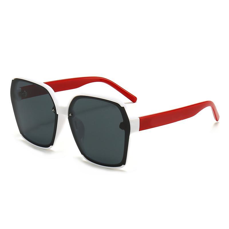 2021 جديد أزياء عالية الجودة مصمم نظارات عالية الجودة ماركة الاستقطاب عدسة نظارات الشمس النظارات للنساء النظارات إطار معدني 546