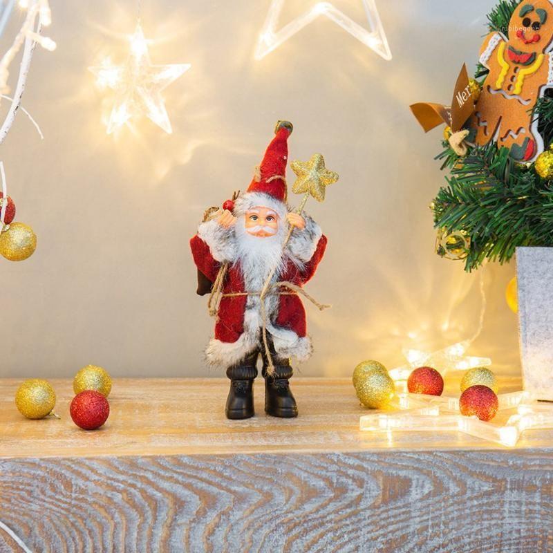 Santa Claus кукла рождественские украшения украшения дома рождественские подарочные ткань куклы1