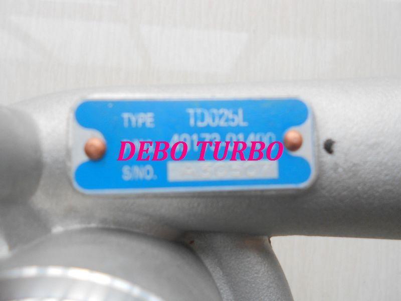 NEW TDO25L/49173-01400 Turbo turbocharger for MITSUBISHI Galant VR4 4WD6A13TT 2.5L 120KW