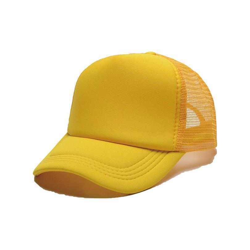 Verão Bonés Unisex Caps Snapback Publicidade Publicidade Logotipo DIY Thermal Transfer Cap Adulto Crianças Sublimação Em Branco Presentes Coloridos G10607